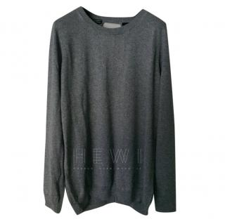 Tommy Hilfiger Open-Back Grey Sweater