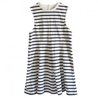 T by Alexander Wang Striped Sleeveless Dress