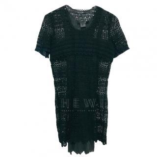 Isabel Marant Black Crochet Lace dress