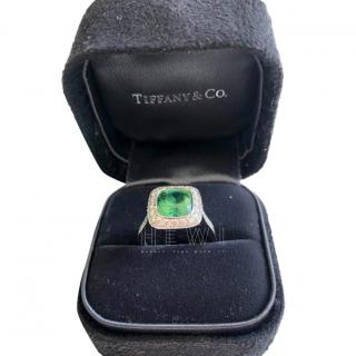 Tiffany & Co tourmaline and diamond Legacy ring