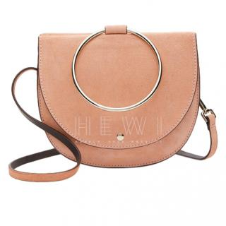 Theory Whitney Suede Shoulder Bag