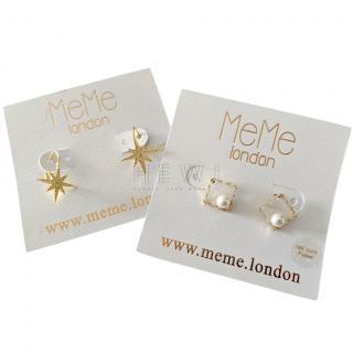 MeMe London set-of-two earrings