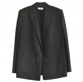 Saint Laurent black single breasted blazer