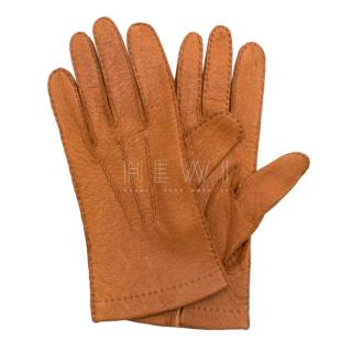 Bespoke Tan Leather Gloves