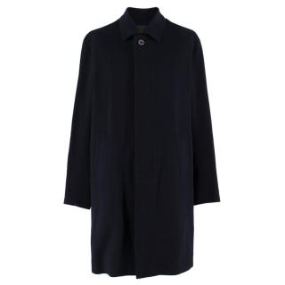 Mackintosh Navy Fine Loro Piana Cashmere Coat