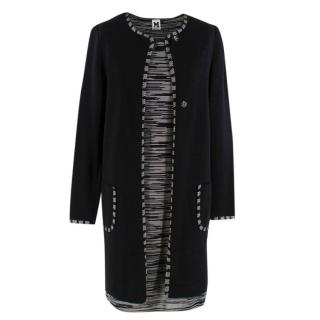 Missoni Black & Grey Knit Dress & Jacket Set
