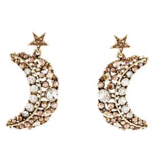 Oscar De La Renta Celestial crystal-drop earrings