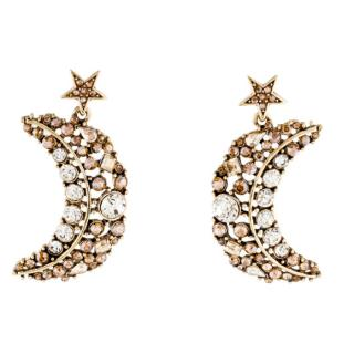 Oscar De La Renta Celestial crystal-drop earrings