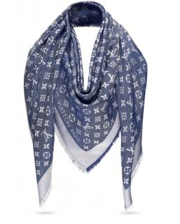 Louis Vuitton Denim Monogram Shawl
