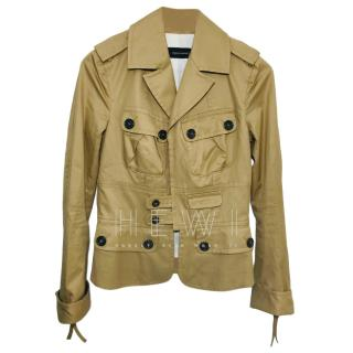 Dsquared2 beige safari jacket