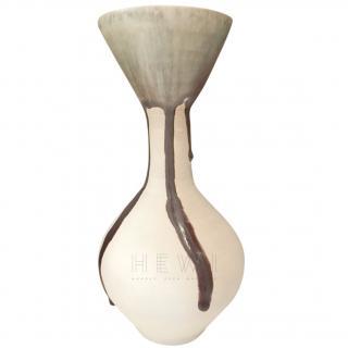 Lucie Rie half-glazed vase