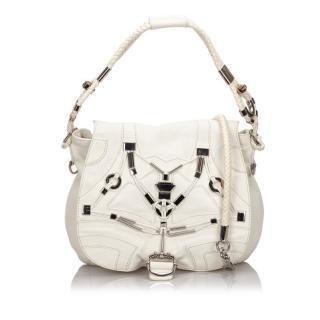 Gucci Embellished Techno Horsebit Flap Bag