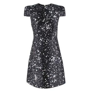 Michael Kors bleach-print A-line dress