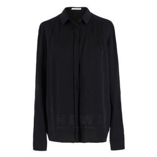 Hugo Boss Black Silk-Satin Blouse