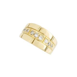 Cartier 18k Yellow Gold Diamond Ring
