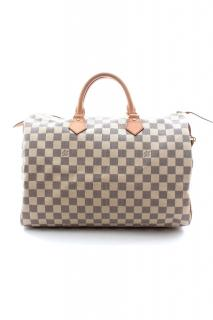 Louis Vuitton Damier Azur Speedy canvas bag