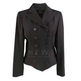 Ralph Lauren Black Label Double Breasted Wool Jacket