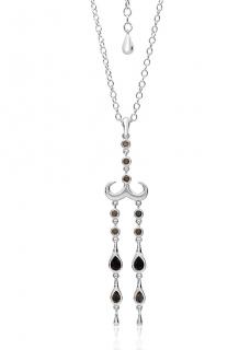Lucy Quartermile quartz necklace