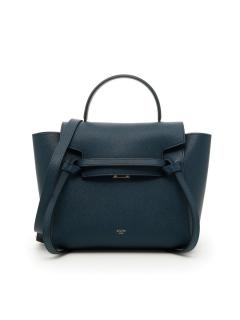 Celine Abyss Blue Micro Belt Bag.