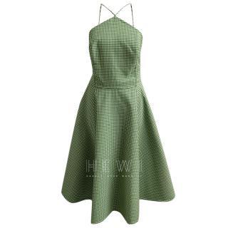 Michael Kors Collection Gingham Dress