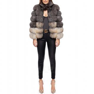 Luxy London Supreme Luxy Fox Fur Coat