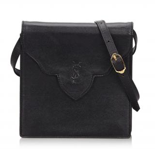 YSL Vintage Leather Shoulder Bag