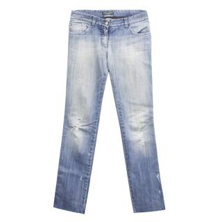 Dolce & Gabbana light blue jeans