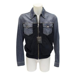 New Dolce&Gabbana mens denim jacket