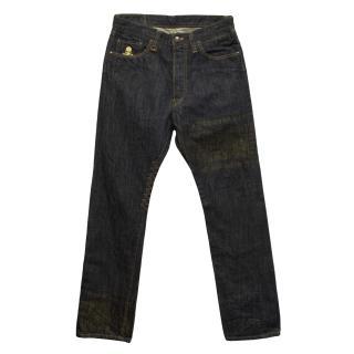 New Mastermind Japan dark blue jeans