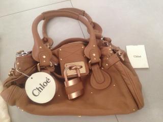 Chloe paddington whiskey colour handbag