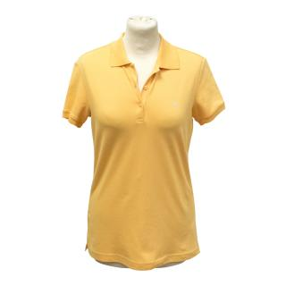 Escada sport orange polo t shirt