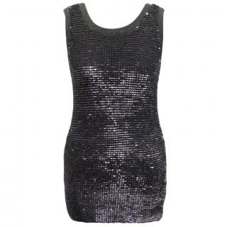 Pablo Gerard Darel knitted sequin vest top