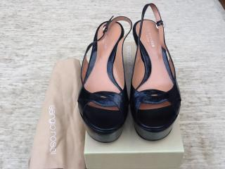 Sergio Rossi Black Wedges NEW