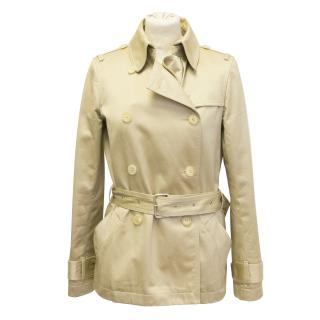 Joseph short trench coat