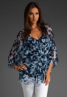 Catherine Malandrino  blue top