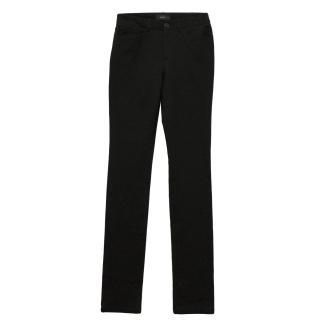 Joseph black skinny leg jeans
