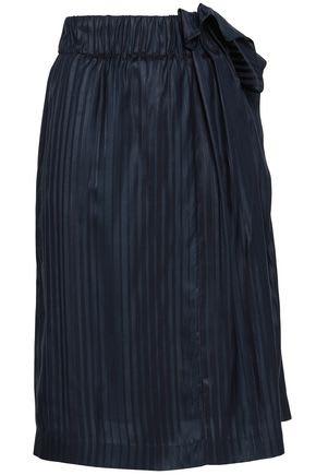 Stella McCartney navy silk skirt