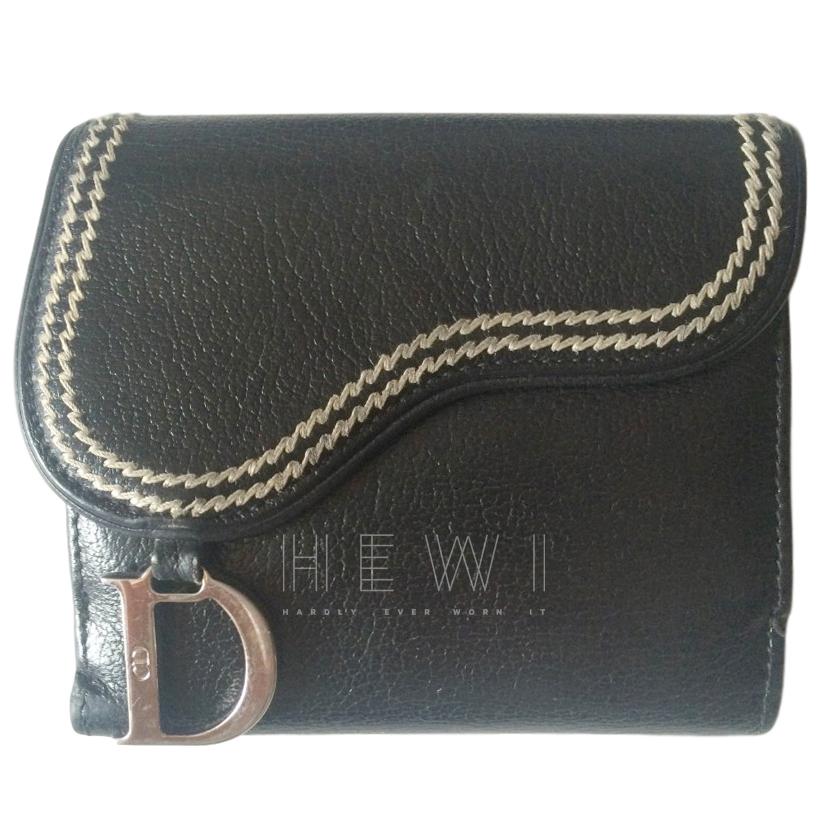 Dior Saddle card holder coin purse