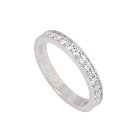 Cartier Platinum Eternity Diamond Wedding Band