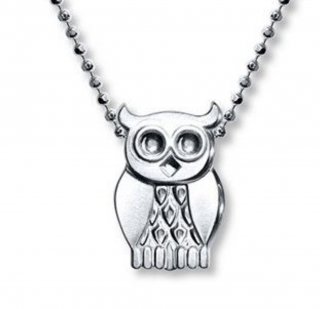 Alex Woo Mystical Owl Pendant and Necklace