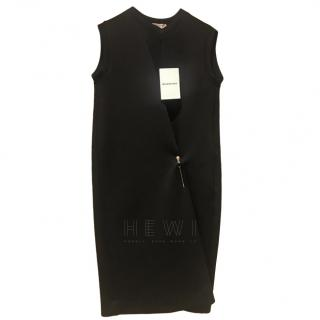 Balenciaga Asymmetric Pin Detail Dress