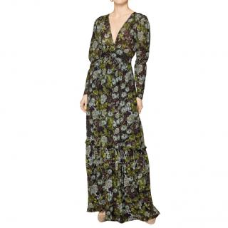 By Timo Green Garden Print Gown