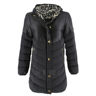 Louis Vuitton Black Hooded Quilted Jacket