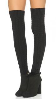 Aquazzura Aspen Sweater Boots