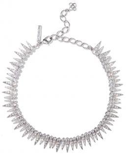Oscar De La Renta Spiked Crystal Necklace