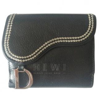 Dior Saddle card holder coin purse