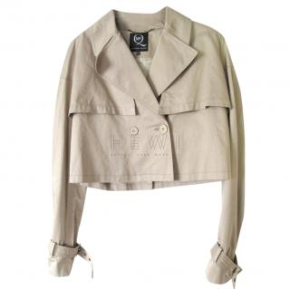 Alexander McQueen MCQ Cropped Trench Jacket