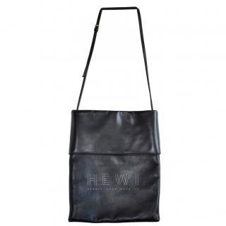 Marni black leather shoulder bag