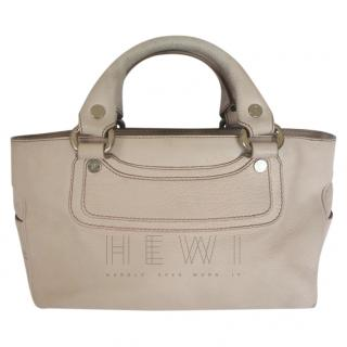 Celine Pale Pink Leather Boogie Bag