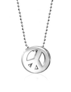 Alex Woo Little Faith sterling silver necklace